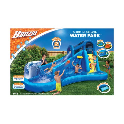 Banzai Surf N' Splash Water Park Slide - Orange