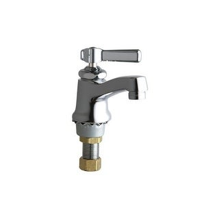 Chicago Faucets 730-COLDAB Single Supply Cold Water Basin Faucet with Lever Handle - Single Hole Installation