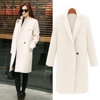 Link to Women's Classic Cashmere Wool Blend Coat Similar Items in Women's Outerwear
