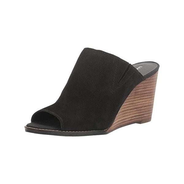 Lucky Brand Womens Jillah Wedge Sandals Open Toe Mules
