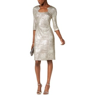 Connected Apparel Womens Cocktail Dress Party Special Occasion