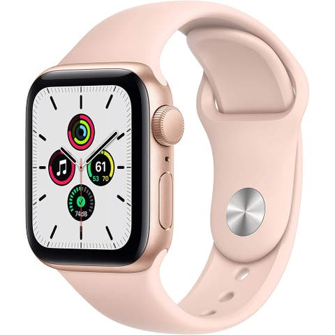Apple Watch SE (GPS, 40mm) - Gold Aluminum Case with Pink Sand Sport