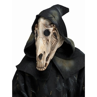 Adult Horse Skull Halloween Costume Mask