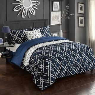 Link to CASA Geo 6-Piece Comforter Set, Multiple Sizes Similar Items in Comforter Sets