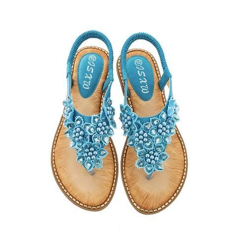 Microfiber Leather Sandals