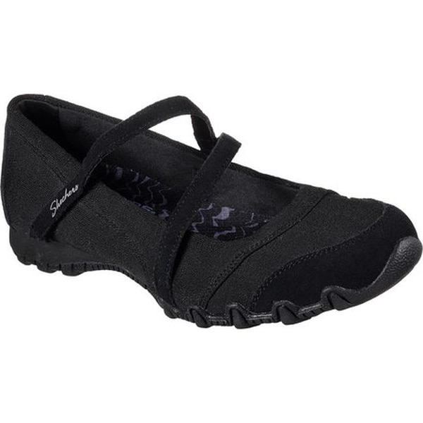 86f31ed3c5 Shop Skechers Women's Relaxed Fit Bikers Get-Up Mary Jane Black - On ...