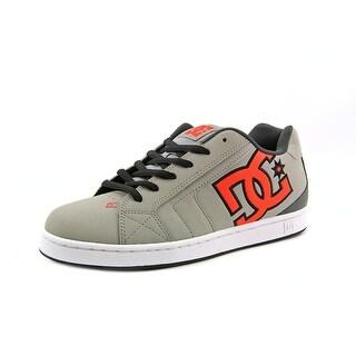 DC Shoes Net Men Round Toe Leather Skate Shoe
