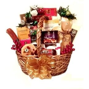Deluxe Holiday Party Basket