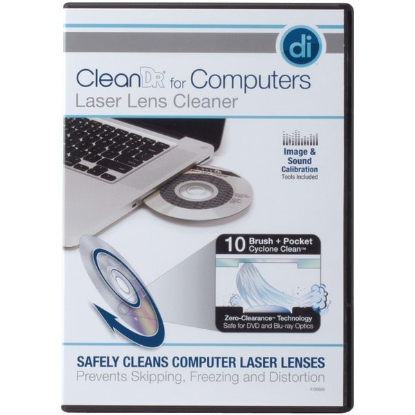 Digital Innovations 4190600 Cleandr(R) Laser Lens Cleaner