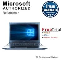 Refurbished Dell Vostro V131 13.3'' Laptop Intel Core i5-2430M 2.4G 4G DDR3 320G Win 10 Pro 1 Year Warranty - Silver