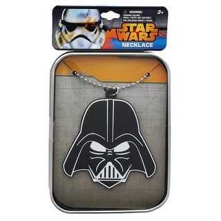 Star Wars Darth Vader Necklace with Tin Case - multi