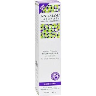 Andalou Naturals - Cleansing Milk For Dry Sensitive Skin Apricot Probiotic ( 2 - 6 FZ)