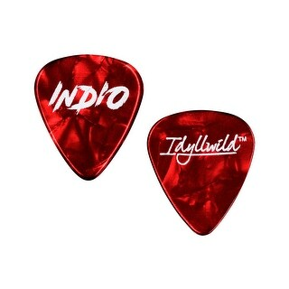 Monoprice Light Guitar Picks - 0.50mm - 12 pack - Red - Stage Right Series