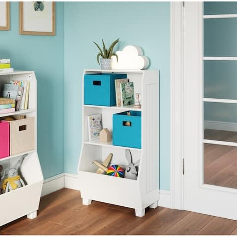 RiverRidge Home Kids 23-in. Bookcase with Toy Organizer, White