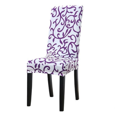 Stretchy Dining Chair Cover Short Chair Covers Washable Protector