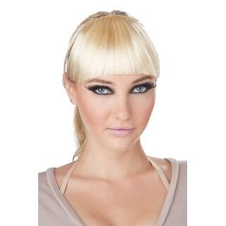 California Costumes Clip-On Bangs Costume Wig (Blonde) - Blonde