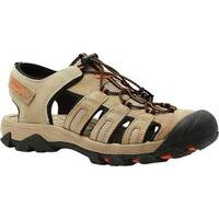 Nevados Men's Newton Sandal Brown/Taupe Leather/Mesh
