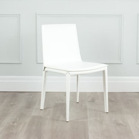 Hilton Modern Leather Upholstered Dining Chair