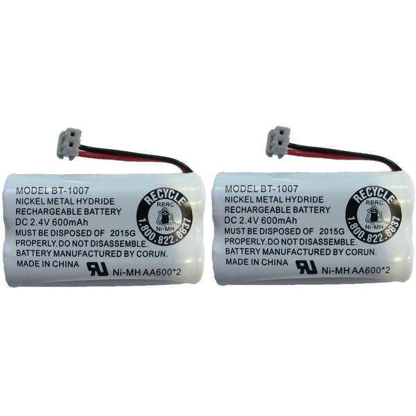 Replacement BT1007 (TL26602) Battery For Uniden DECT1580-4C Phone Model (2 Pack)