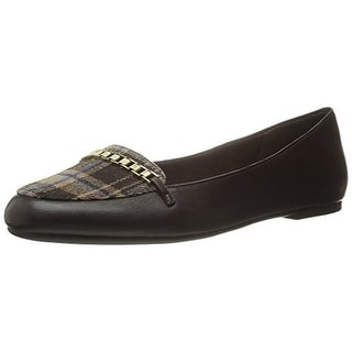 Bella Vita Womens Thora Leather Slip On Ballet Flats