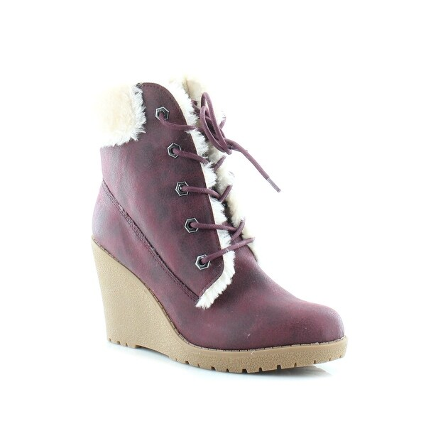 Dolce Vita Fresco Women's Boots Burgandy - 8