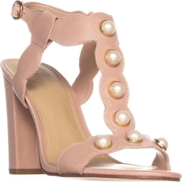 Marc Fisher Kaylee Dress Heeled Sandals, Light Pink - 8.5 us