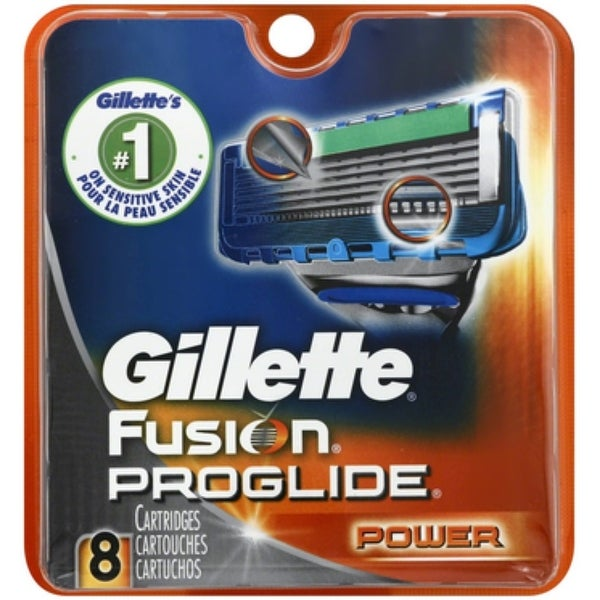 Gillette Fusion ProGlide Power Cartridges 8 Each