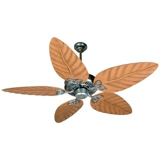 "Craftmade Outdoor 52"" Patio Fan Indoor / Outdoor Patio 44"" - 54"" 5 Blade Ceiling Fan - Requires Blade Selection - N/A"