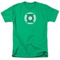 DC Comics Green Lantern Logo Distressed Mens Short Sleeve Shirt