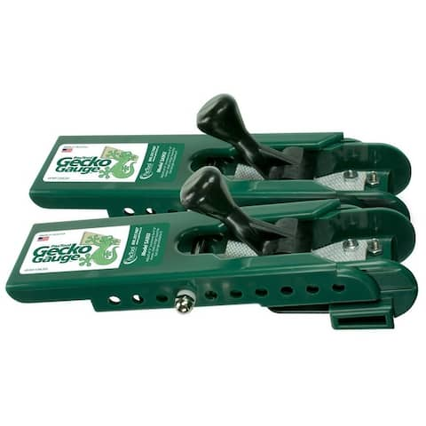 "Pactool SA903 Gecko Gauge Hardi Board Siding Gauge, 4"" - 8"", 1 Pair/Pack"