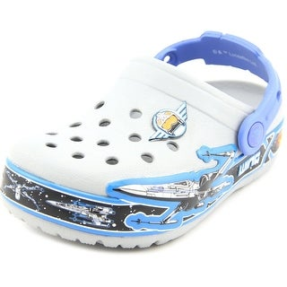 Crocs Lights Star Wars Xwing Youth Round Toe Synthetic Clogs