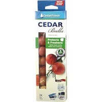 Household Essentials 24Pk Cedar Balls 17824 Unit: EACH