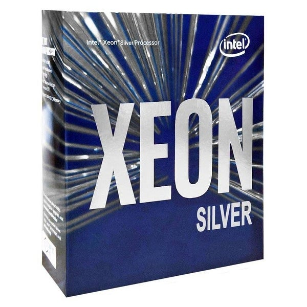 Intel Cpu Processor Bx806734112 Xeon Silver 4112 4C 2.6Ghz 8.25Mb Fc-Lga14 Box