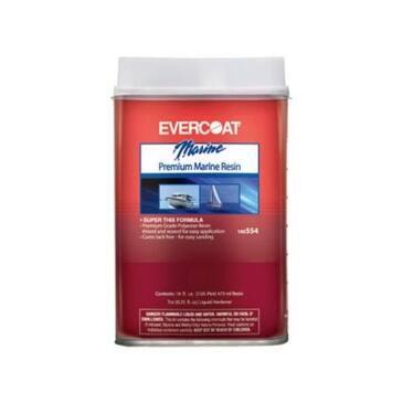 Evercoat 100554 Premium Marine Resin, 1 Pint