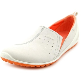 Ecco Biom Lite Gamma Slip On Round Toe Leather Sneakers