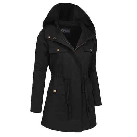 NE PEOPLE Womens Military Anorak Jacket in Various Styles