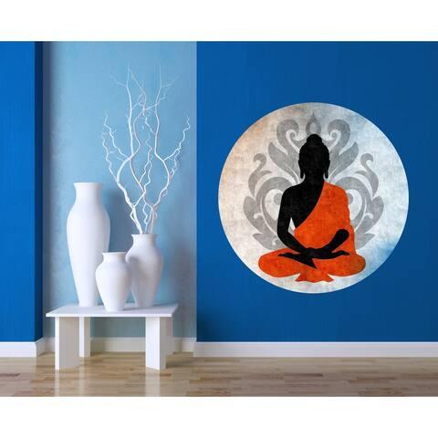 Buddha sticker, Buddha Decal, Buddha Wall Decor, Buddha Wall Art