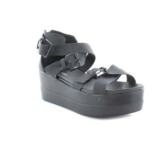 Wanted Twizzler Women's Sandals & Flip Flops Black