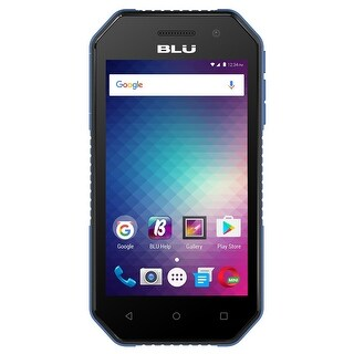 BLU Tank Extreme 4.0 T470U Unlocked GSM Quad-Core Dual-SIM Phone w/ IP65 Certification - Black