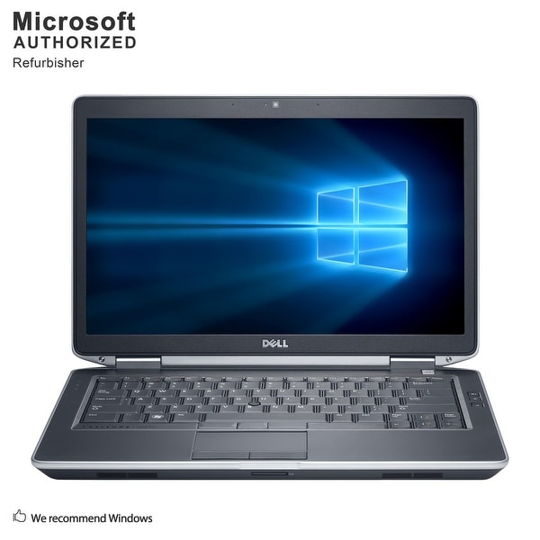 "Dell Latitude E6430S 14"", Intel Core i7 3520M 2.90GHz, 8GB RAM, 360GB SSD, DVD, WIN10P64(EN/ES)-Refurbished"