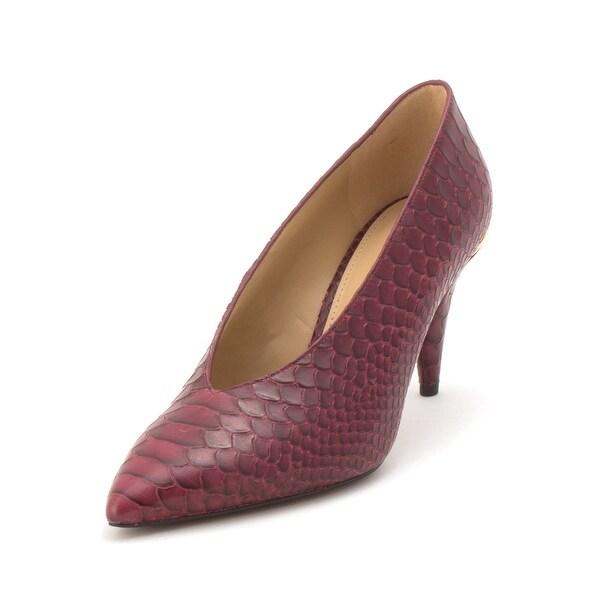 c2161342f715 Shop Michael Kors Womens Lizzy Mid Pump Pointed Toe Classic Pumps ...