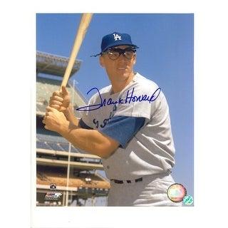 Autographed Frank Howard Los Angeles Dodgers 8x10 Photo