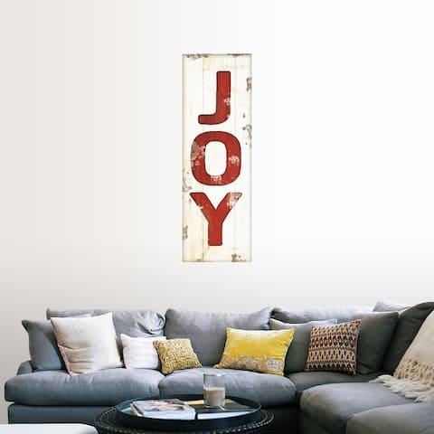 """""""Joy Christmas"""" Poster Print"""