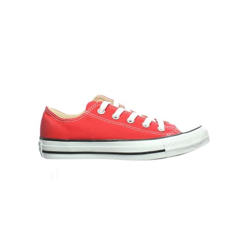 Converse Womens Chuck Taylor All Star Red Skateboarding Shoes Size 5.5