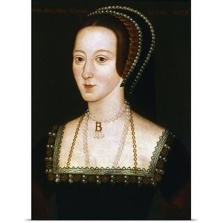Poster Print entitled Portrait of Anne Boleyn