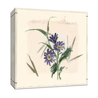 "PTM Images 9-153286  PTM Canvas Collection 12"" x 12"" - ""Grecian Wildflower"" Giclee Flowers Art Print on Canvas"