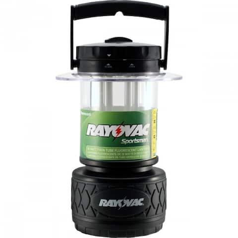 Rayovac SP8D Sportsman Area Lantern w/Twin 9W Fluorescent U8 Tubes, 300 Lumens