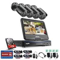 SANNCE 8CH 720P HD CCTV Cameras Surveillance System 1TB