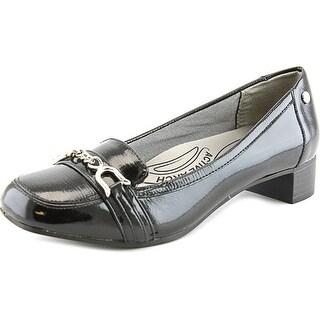 Life Stride Maison Women Apron Toe Synthetic Black Heels