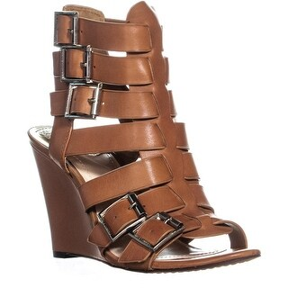 Vince Camuto Martez Wedge Sandals, Fudge - 8.5 us